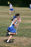 Muchacha del lacrosse Imagen de archivo