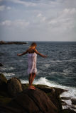 Muchacha del mar Imagen de archivo