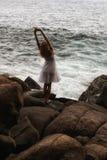 Muchacha del mar Imagen de archivo libre de regalías