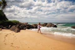 Muchacha del mar Imagenes de archivo