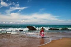 Muchacha del mar Fotos de archivo libres de regalías