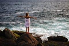 Muchacha del mar Foto de archivo libre de regalías
