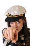 Muchacha del marinero Imágenes de archivo libres de regalías