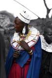 Muchacha del Masai imagen de archivo libre de regalías