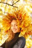 Muchacha del otoño Imágenes de archivo libres de regalías