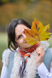 Muchacha del otoño Foto de archivo