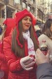 Muchacha 3 del promo de Coca-Cola Fotografía de archivo
