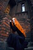 Muchacha del Redhead Imagen de archivo