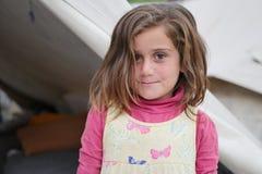 Muchacha 2 del refugiado imagenes de archivo