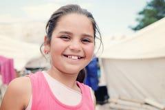 Muchacha 10 del refugiado imagen de archivo