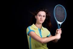 Muchacha del tenis Imagen de archivo libre de regalías