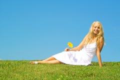 Muchacha del verano Imagen de archivo libre de regalías