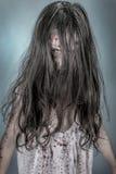 Muchacha del zombi Fotos de archivo