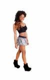 Muchacha delgada en falda Imagen de archivo libre de regalías