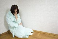 Muchacha deprimida Imagen de archivo