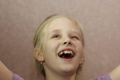 Muchacha divertida agradable del adolescente Fotografía de archivo