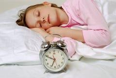 Muchacha durmiente fotos de archivo libres de regalías