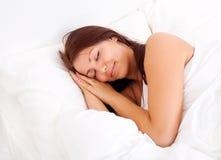 Muchacha durmiente Fotografía de archivo libre de regalías