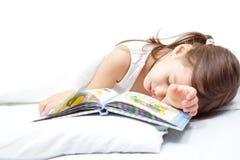 Muchacha durmiente Foto de archivo libre de regalías