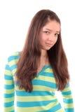 Muchacha el adolescente. Foto de archivo libre de regalías
