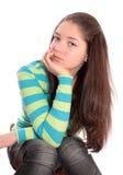 Muchacha el adolescente. Imágenes de archivo libres de regalías