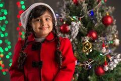 Muchacha emocionada feliz Foto de archivo libre de regalías