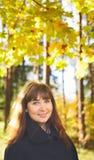 Muchacha en bosque Imagen de archivo libre de regalías