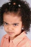 Muchacha en camisa anaranjada Imagen de archivo libre de regalías