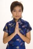 Muchacha en Cheong Sam 1 Imagen de archivo libre de regalías
