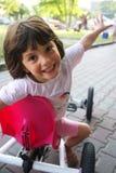 Muchacha en el ir-carro Imagen de archivo libre de regalías