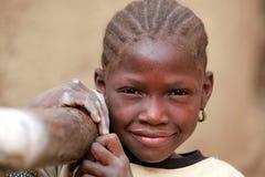 Muchacha en África Foto de archivo