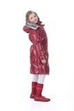 Muchacha en la ropa de moda Imagen de archivo libre de regalías