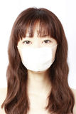 Muchacha en máscara Fotos de archivo libres de regalías