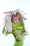 Muchacha en traje fotos de archivo