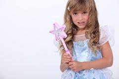 Muchacha en traje de hadas Fotos de archivo