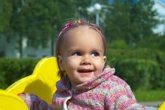 Muchacha en un parque Fotos de archivo libres de regalías