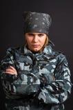 Muchacha en uniforme Fotos de archivo libres de regalías