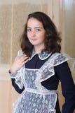 Muchacha en uniforme escolar Imagen de archivo