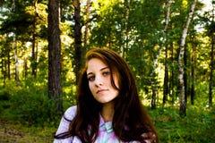 Muchacha en verano Imagenes de archivo