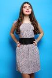 Muchacha en vestido Foto de archivo