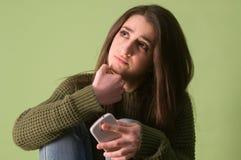 Muchacha expresiva del adolescente Fotografía de archivo libre de regalías