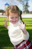 Muchacha feliz Fotografía de archivo