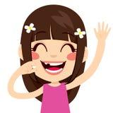 Muchacha feliz desdentada Foto de archivo libre de regalías