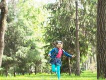 Muchacha feliz en el verano Imagen de archivo libre de regalías