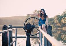 Muchacha feliz Tailandia imagenes de archivo