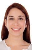 Muchacha fresca con una sonrisa hermosa Foto de archivo libre de regalías