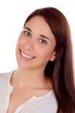 Muchacha fresca con una sonrisa hermosa Imagen de archivo libre de regalías