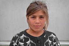 Muchacha gitana joven Foto de archivo libre de regalías
