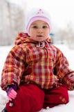 Muchacha hermosa al aire libre Fotos de archivo libres de regalías