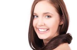 Muchacha hermosa con el pelo largo Imagen de archivo libre de regalías